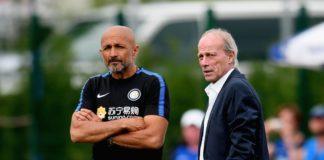 Spalletti e Sabatini, Inter 2017/18