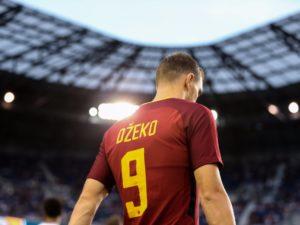 Edin Dzeko, Roma 2017/18