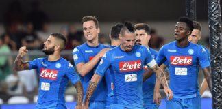 Esultanza Napoli, 2017-2018