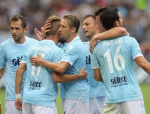 Esultanza Lazio 2017/18