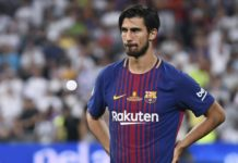 André Gomes, Barcellona 2017-2018