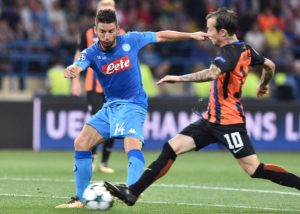 Dries Mertens vs. Shakhtar Donetsk, UEFA Champion's League Pool F