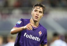 Federico Chiesa, Fiorentina 2017/18