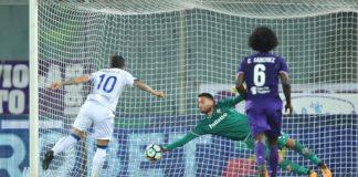 Marco Sportiello, Fiorentina-Atalanta 2017-2018