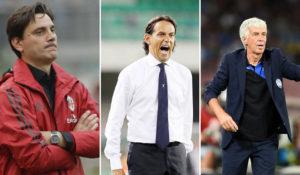 Europa League, probabili formazioni Montella, Inzaghi, Gasperini