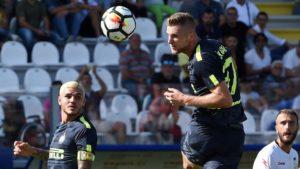 Skriniar, Crotone-Inter 2017-2018
