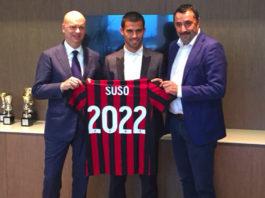 Suso rinnova il contratto con il Milan fino al 2022