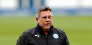 Craig Shakespeare Leicester, 2017/18