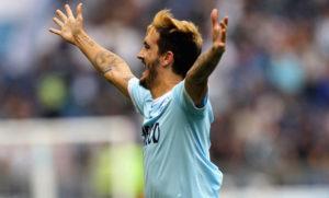 Luis Alberto, Lazio-Sassuolo 2017-2018