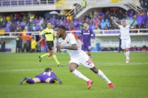 Gerson, Fiorentina-Roma 2017-2018